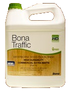 Bona traffic hd satin water base finish